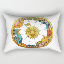 Baby Zodiac Rectangular Pillow
