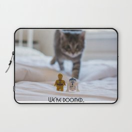 We're Doomed... (wide) Laptop Sleeve