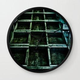 Green Path Wall Clock