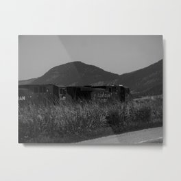 Canadian Train Metal Print