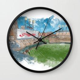 Cleveland - Progressive Field Wall Clock