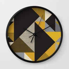 Geometric organic Wall Clock