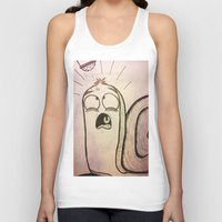 salt water Tank Tops featuring Salt?! by John Budreski