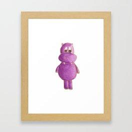 Violet Hipo Framed Art Print