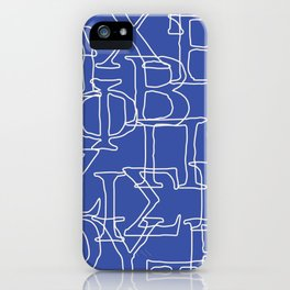 Greek Alphabet iPhone Case