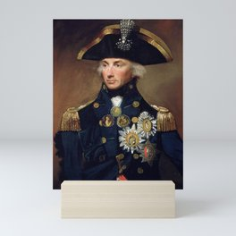 Admiral Horatio Nelson Mini Art Print