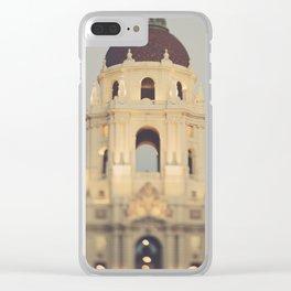 Pasadena. City Hall No.1 Clear iPhone Case