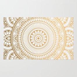 Luxury gold pattern Rug