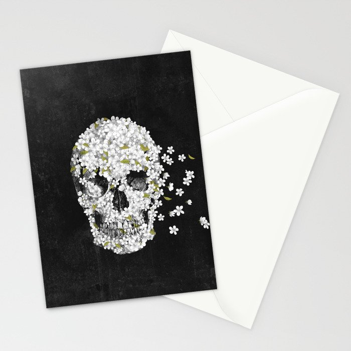 A Beautiful Death - mono Stationery Cards