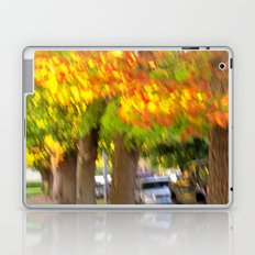 Fall is a Beautiful Blur Laptop & iPad Skin