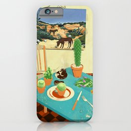 LA MESA DE CACTUS iPhone Case