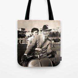 FREDDIE KRUEGER IN ROMAN HOLIDAY Tote Bag