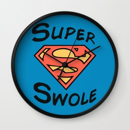 Super! Wall Clock
