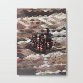 [02.07.17] Flippant Castle Metal Print