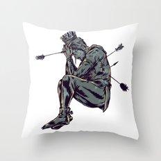 As Saint SEbastian Throw Pillow