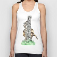 wild things Tank Tops featuring The Wild Things by Cherry Virginia