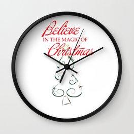 Magic of Christmas Wall Clock