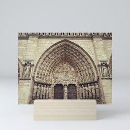 Notre-Dame de Paris Mini Art Print