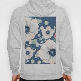 Summer Flowers Blue #society6 #buyart Hoody