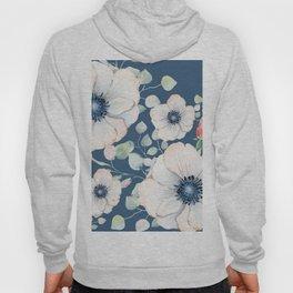 Summer Flowers Blue #society6 #buyart Hoody