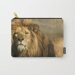 Lion on the alert Carry-All Pouch