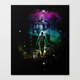 time traveller v2 Canvas Print