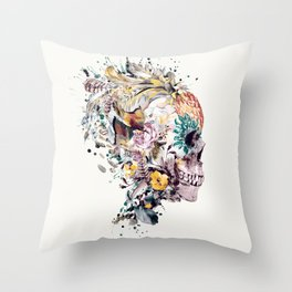 Momento Mori VII Throw Pillow