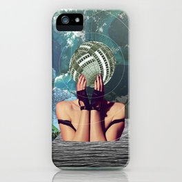 atmosphere 45 · in a gadda da vida iPhone Case