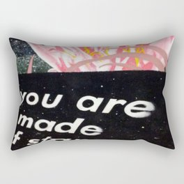 YOU ARE MADE OF STARS Rectangular Pillow