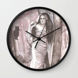 Woods Witch Wall Clock