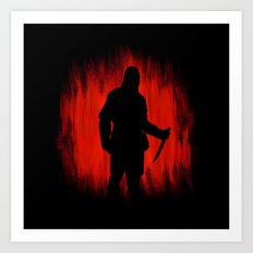 The assassin rippers bloody sunday Art Print