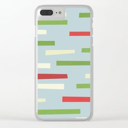 Crossing Clear iPhone Case