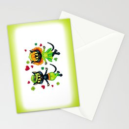 Irish dancing cats Stationery Cards