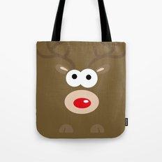 Minimal Reindeer  Tote Bag