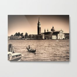 A perfect day in Venice Metal Print