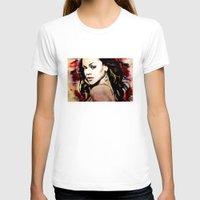 rihanna T-shirts featuring rihanna by mark ashkenazi