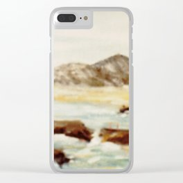Coastal Scene, AUSTRALIA Clear iPhone Case