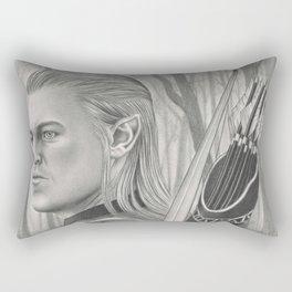 Elf Archer Rectangular Pillow