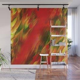 Melting in red / Sciogliersi nel rosso Wall Mural