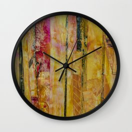 Birch Girl Wall Clock