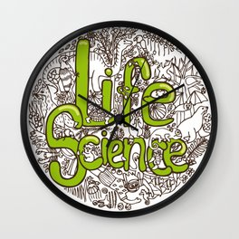 Life Science Wall Clock