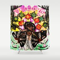 architect Shower Curtains featuring Dream Architect by GloamingWilds