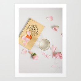 the art of loving Art Print