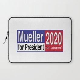 Mueller For President 2020 Laptop Sleeve