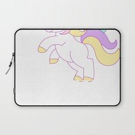 Prettiest Unicorns Born July Birthday Laptop Sleeve