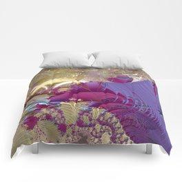 Feelings of being in love -- Fractal illustration Comforters