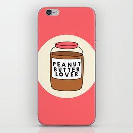 Peanut Butter Lover iPhone Skin