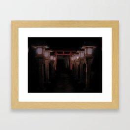 The Light Within (Kyoto, Japan) Framed Art Print