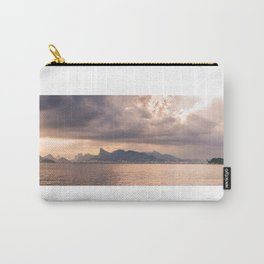 Heavens Burst over Christ the Redeemer Carry-All Pouch
