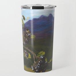 Blackberries Under Sleeping Beauty Travel Mug